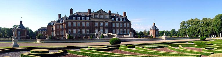 """Schloss Nordkirchen, das """"Westf�lische Versailles"""" in der Gemeinde Nordkirchen im M�nsterland"""